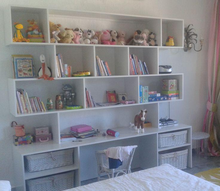 Onita Moulik I bookshelf with desk