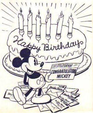 Happy Birthday Mickey Mouse! ºoº