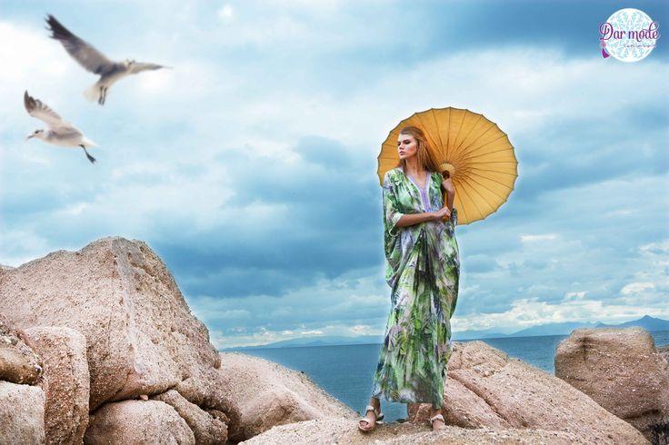 Kaftan Mykonos・Salt in the air Sand in my hair lookbook