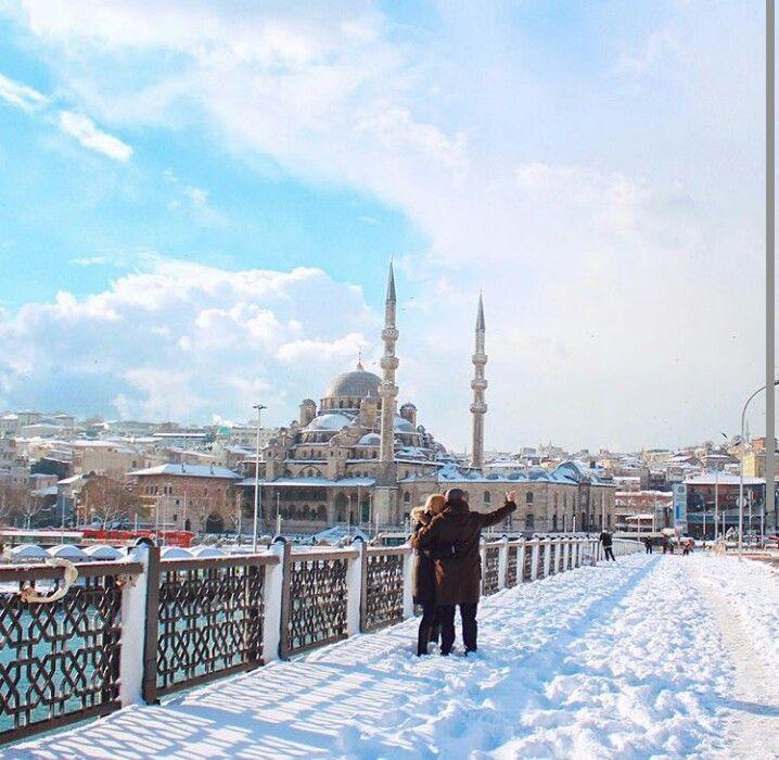 Snow istanbul 2016
