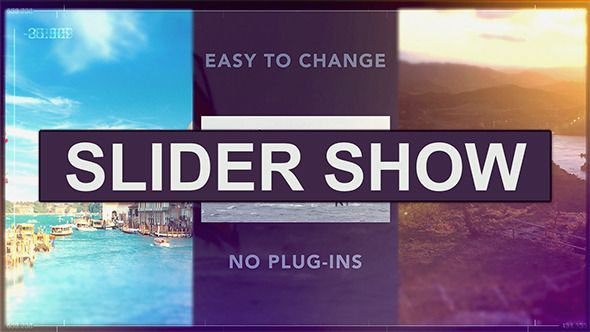Slider Show (Special Events)  After Effects Templates #aftereffects