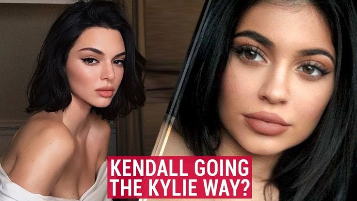 Kendall Jenner Does Lip Job Like Kylie Jenner? Kendall Confused For Kylie With Plumped Lip #KendallJenner