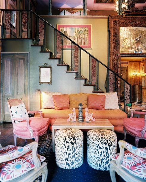 20 Amazing Bohemian Chic Interiors. Sooooo me!!!!!! Says Allyssa all over it ;)