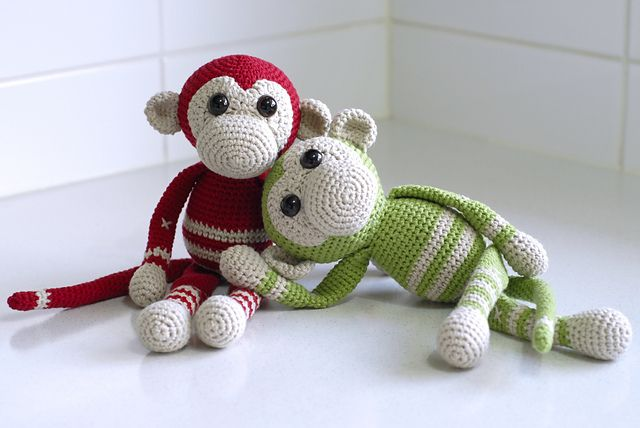 Ravelry: My Little Monkey pattern by Lisa Maree