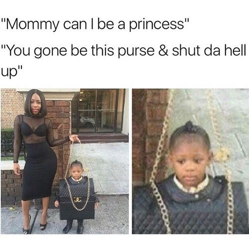 I bet she didn't mean it like that. I call my baby my handbag cos she's with me all the time...
