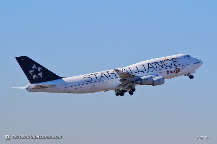 Star Alliance (Thai Airways International) Boeing 747-4D7 HS-TGW (cn 27724/1111) DSC_2071