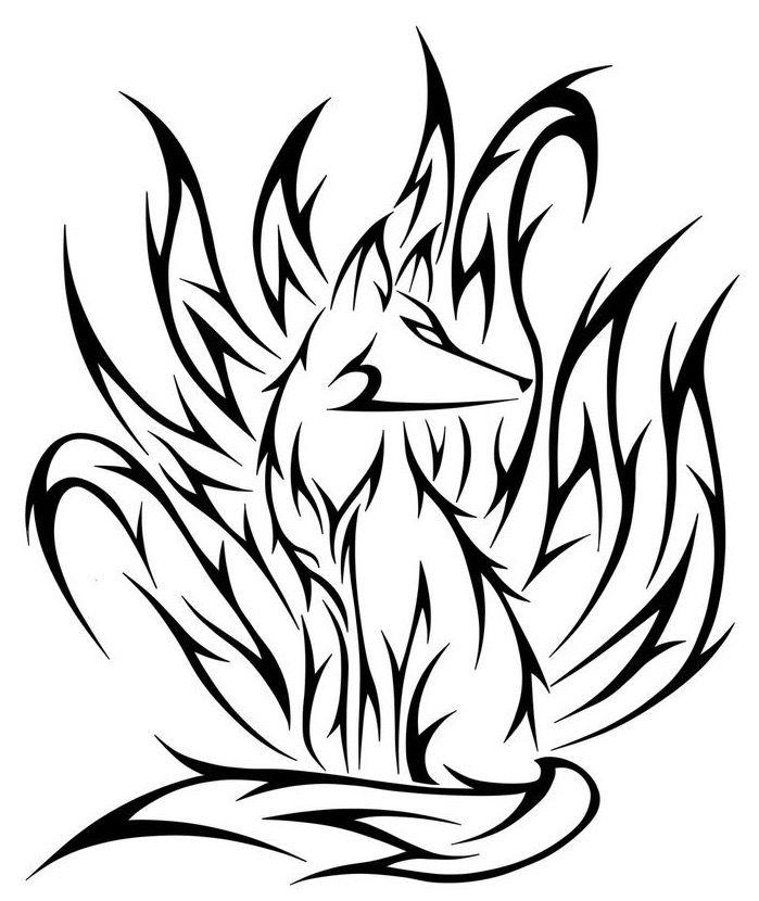 Pin By Mind Hayes On Stuff In 2020 Fox Tattoo Design Tribal Drawings Fox Tattoo