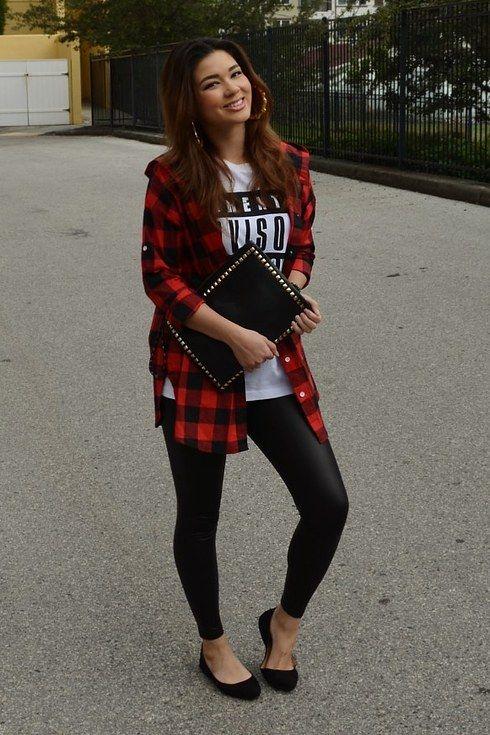 17 mejores ideas sobre Camisa De Cuadros en Pinterest | Camisas cuadros mujer Camisas a cuadros ...