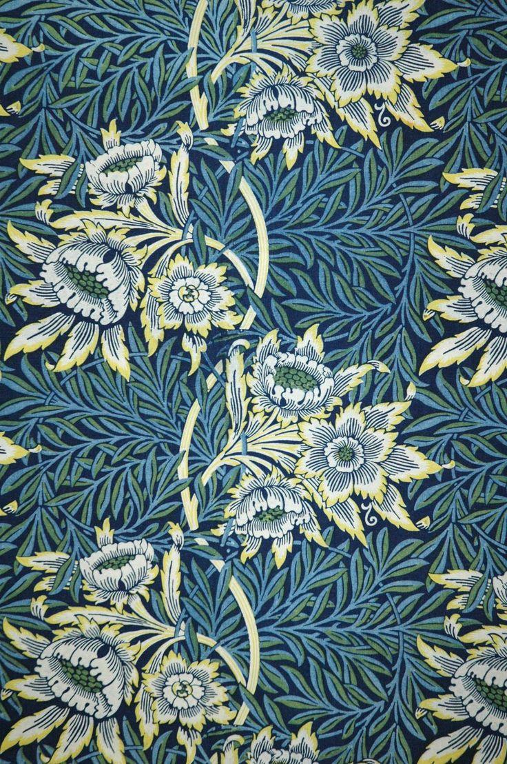 William morris textile designs 12 william morris for Design couchtisch fabric