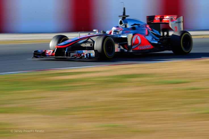 Jensen Button, Testing - March 2012