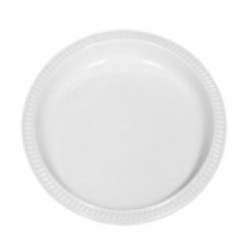 PLASTIC PLATE 230MM WHITE 500/CTN In Stock   $48.68 Plastic bowls are perfect for storing side dish items and soups for on the go. Transports safely with a lid and is easy to reheat.