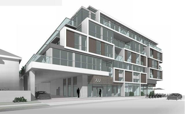 Rendering of Bayview & Hillsdale's Hillsdale Ave. frontage, image courtesy of The Brown Group of Companies