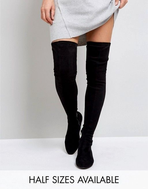 dac6a4db6b55 Pin by InterApparel on over the knee boot outfit