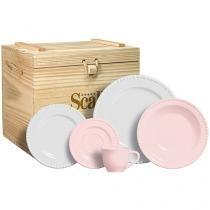 Aparelho de Jantar 30 Peças - em Cerâmica - Cerâmica Scalla
