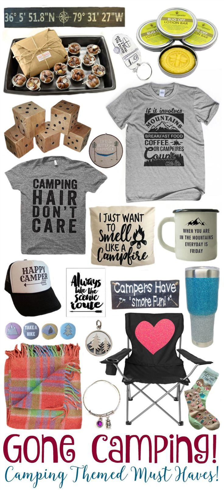 T-shirt and socks ❤️❤️❤️ Camping Themed Must Haves! - http://BusyBeingJennifer.com