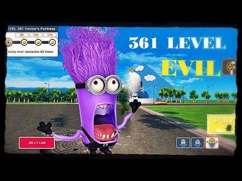 Despicable Me 2: Minion Rush Anti-Villain League 361 Level Santa Minion EVIL MINION PART 361 - YouTube