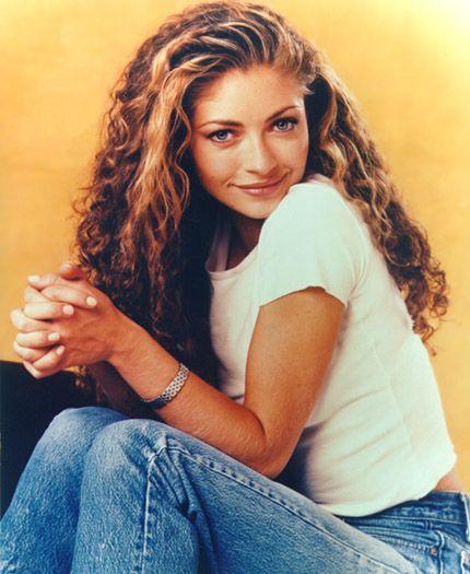Rebecca Gayheart ... The Noxzema Girl turned Dylan's wife Toni! :) I always envied her hair!!