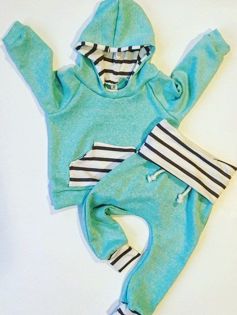 Baby clothes / baby / baby girl hoodie / baby boy by BornApparel