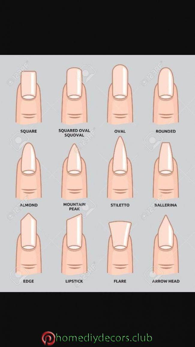 Dangerous False Nails Dangerous False Nails Gel Nails Shape Acrylic Nail Shapes Different Nail Shapes