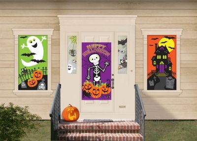 you and your family will have so much fun using this halloween decorating kit to decorate
