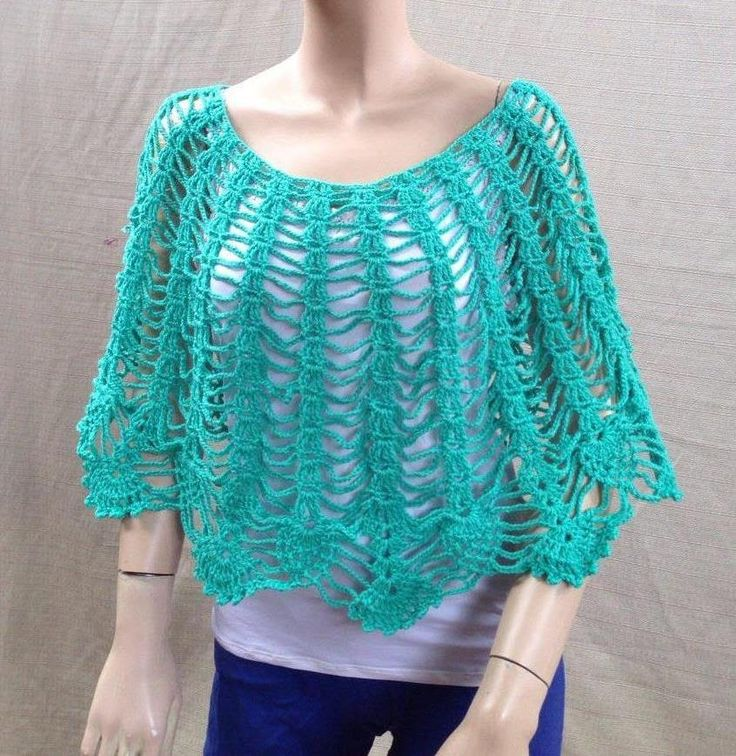 43 best images about Crochet Shawl, Capelet, Shrug and ...