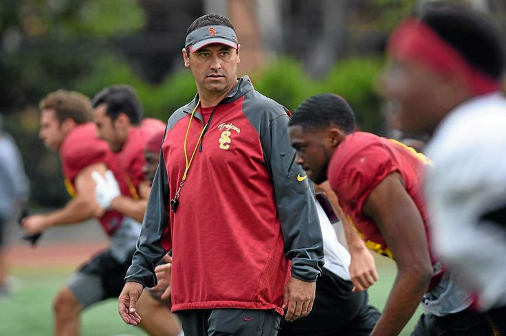 USC coach Steve Sarkisian asked to take temporary leave, Clay Helton named interim coach
