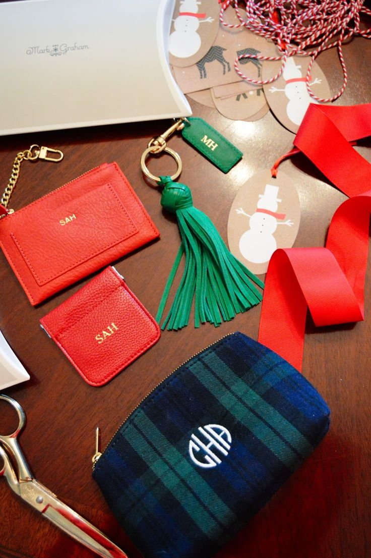College Prep: Monogrammed Gifts with Mark and Graham
