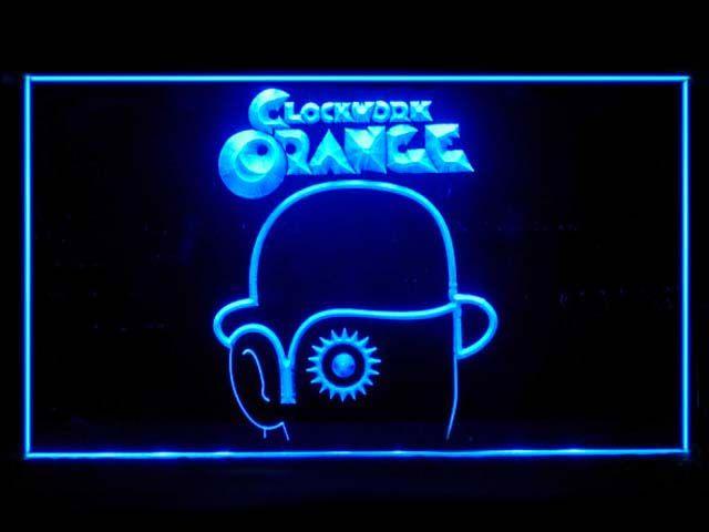 A Clockwork Orange Neon Light Sign www.shacksign.com