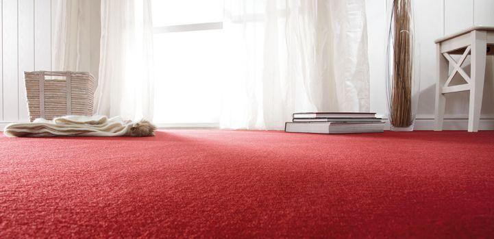 Vlněné koberce udržují optimální vlhkost v místnosti