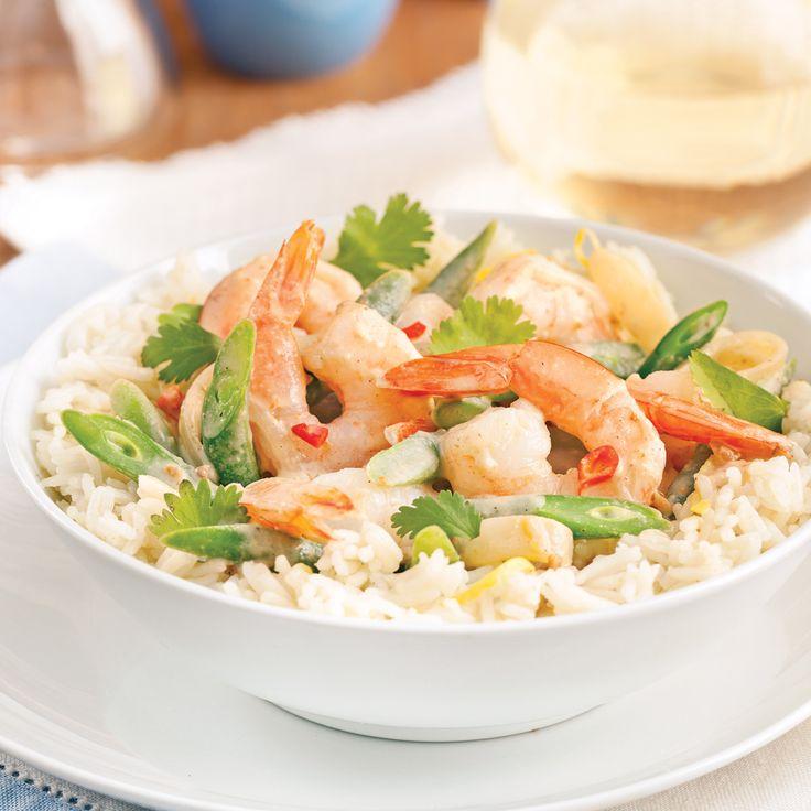 Cette recette facile à congeler s'accompagne à merveille d'un riz basmati légèrement assaisonné.