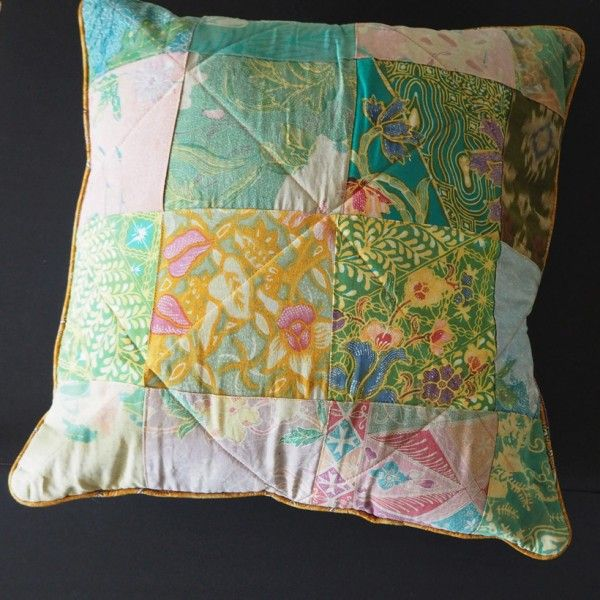 Hattie Batik Cushion #shopsmall  Shop online at thevillagemarketsgc.com.au/shop