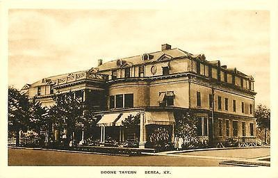 Berea Kentucky KY 1920 Boone Tavern Owned By Berea College Vintage Postcard