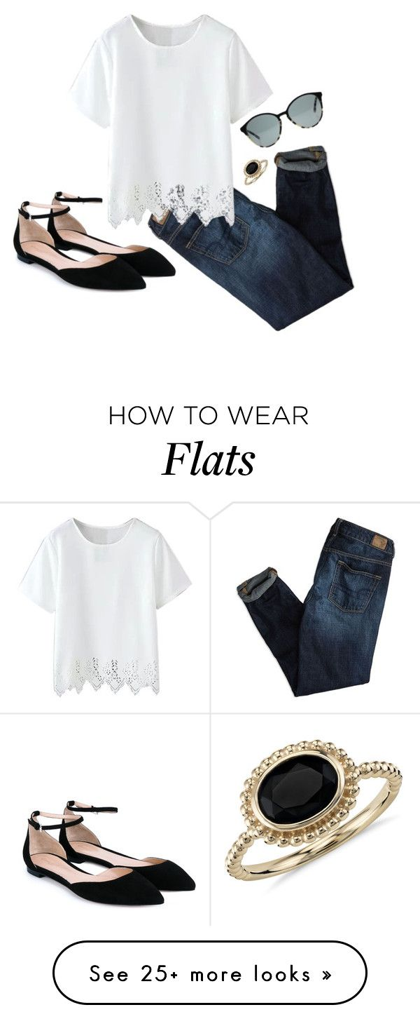 """""""Cute"""" by aowens99 on Polyvore featuring American Eagle Outfitters, Gianvito Rossi, Blue Nile, STELLA McCARTNEY, women's clothing, women, female, woman, misses and juniors"""