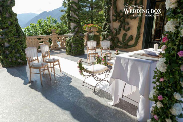 A beautiful,intimate ceremony at Villa Balbianello