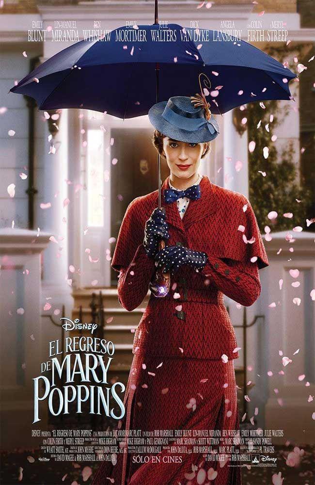 El Regreso De Mary Poppins Pelicula Completa En Español Latino Mary Poppins Películas Completas Peliculas