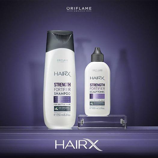 Mientras más largo el pelo, más propenso es a quebrarse. Por eso la nueva línea de Hair X contiene proteína de levadura, que incrementa la producción de queratina, ¡haciéndolo más fuerte en sólo 30 días! #Hair #OriflameMX