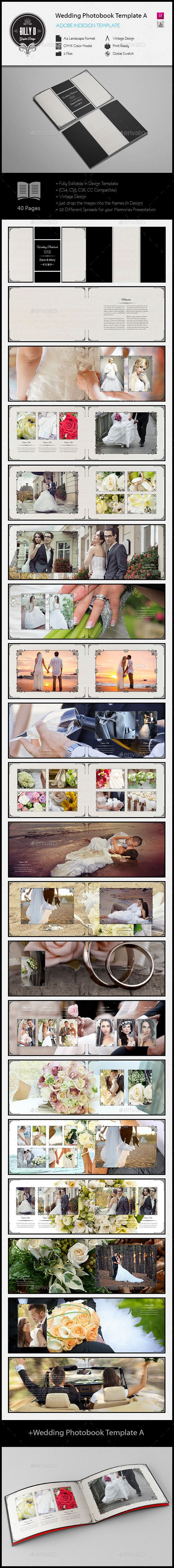 Wedding Photobook Template A
