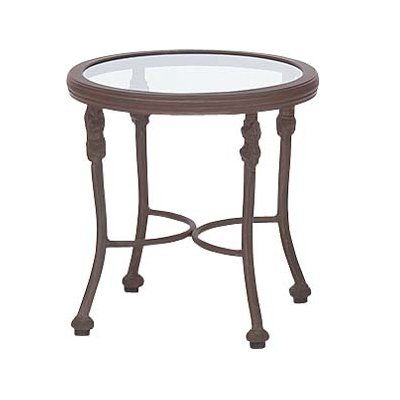 Woodard Landgrave 42535G 1 Chateau Outdoor Round End Table Chateau Round  End TableFor Over 140