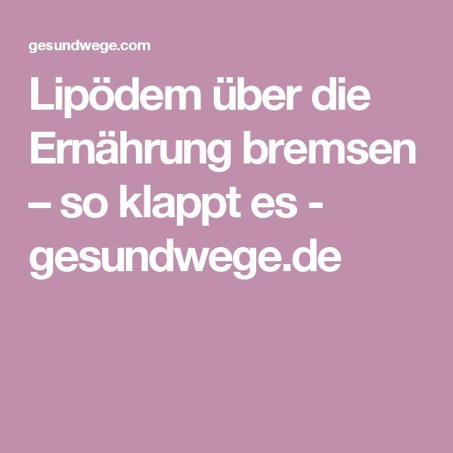 Lipödem über die Ernährung bremsen – so klappt es - gesundwege.de