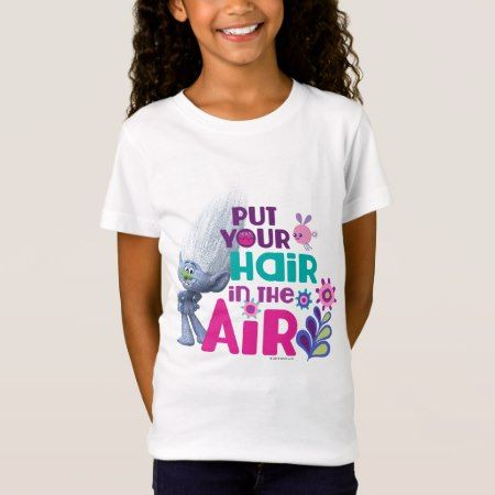 Trolls | Put Your Hair in the Air T-Shirt - tap, personalize, buy right now!