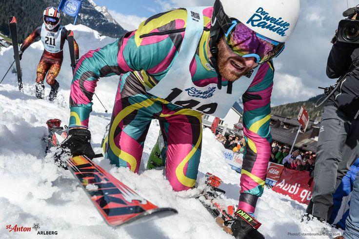 Erschöpft aber glücklich! Der Weiße Rausch fordert seinen Teilnehmern alles ab. | Tirol | Austria