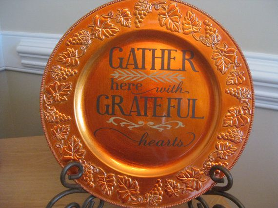 Gather Here With Grateful Hearts Cricut Projects