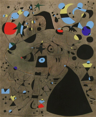 Woman...flight of the bird - Miro
