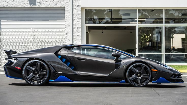 The First Lamborghini Centenario Delivered in the U.S.