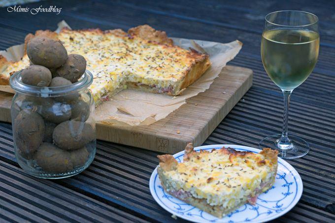 Zwiebel Kartoffel Kuchen