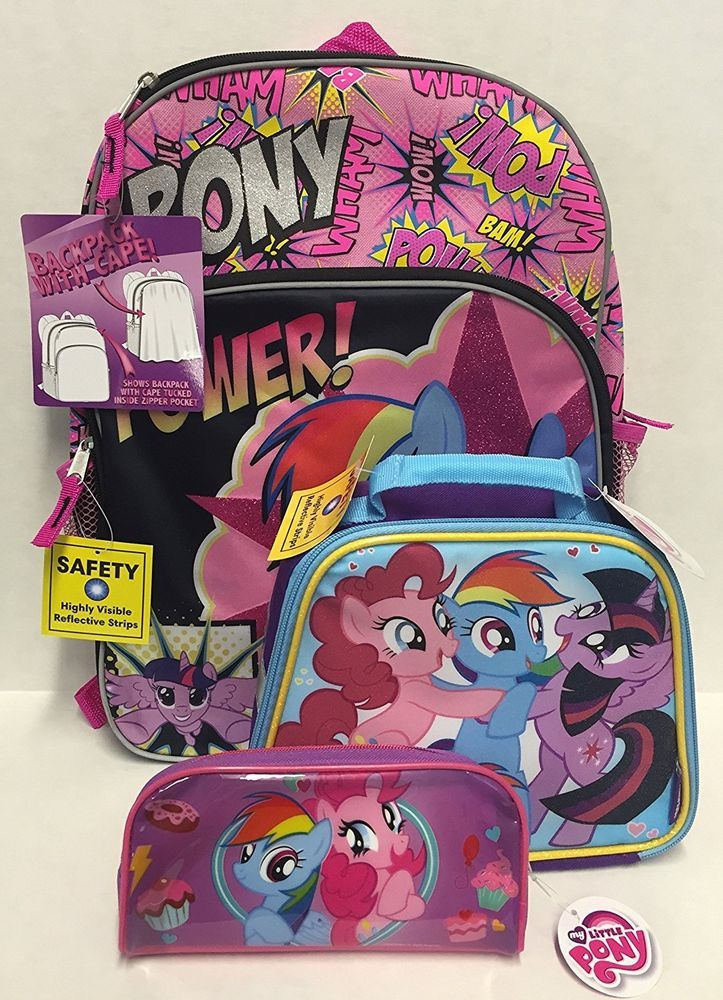 Coordinating My Little Pony zip lunchbox. Coordinating My LIttle Pony standard size pencil case. | eBay!