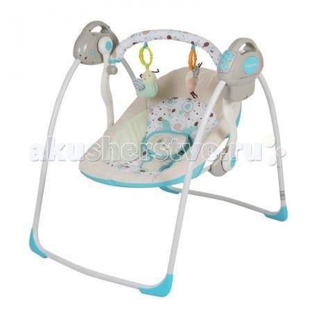 Baby Care Riva  — 5090р. ---------------------------------------  Электронные качели Baby Care Riva с адаптером.  Особенности: 2 положения спинки 5-точеные ремни безопасности 6 скоростей укачивания 10 мелодий, 3 уровня громкости Дуга с игрушками Обивку сидения можно стирать в холодной воде Качели легко и компактно складываются Сетевой адаптер в комплекте Размеры в разложенном виде - 82х63х72 см Размеры в сложенном виде - 79х63х24 см Расстояние от пола до сидения - 25 см Размеры сидения…