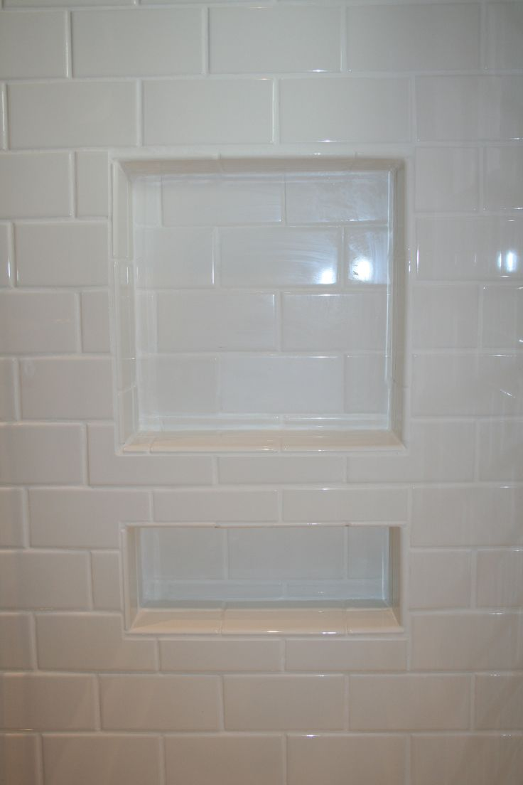 Shower Inserts For Shampoo | Shower Niche Height | Recessed Shower Shelf