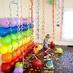 Fondo de globos en Decoración y detalles para fiestas de bebes, niños y adultos, para celebraciones de aniversarios, cumpleaños o cenas
