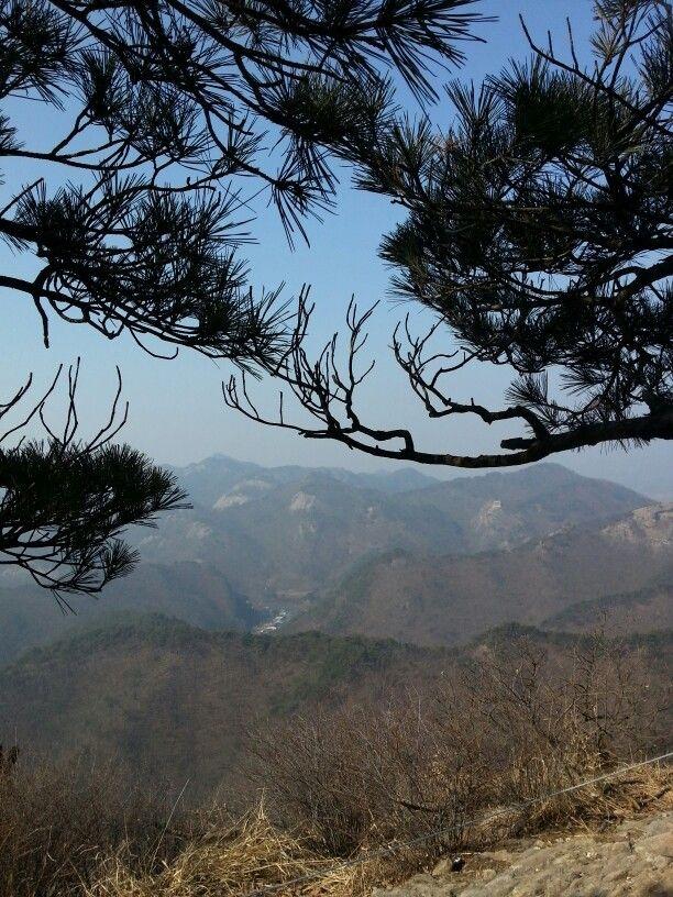 마이산의 멋진 풍경